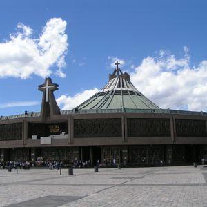 La Plaza Mariana de la Basílica de Guadalupe