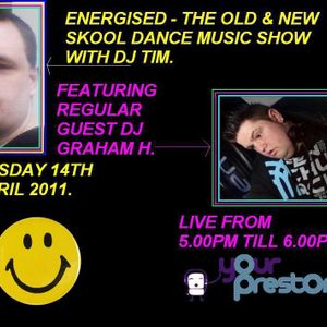 Energised - Old & New Skool Dance Music Show With Dj Tim Featuring DJ Graham H - Part 1