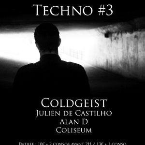 Colisee livecast #1 - Coldgeist