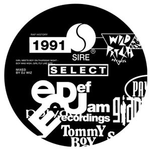 DJ Wiz - Rap History Mix 1991