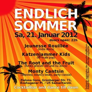 Endlich Sommer (fauparty) – 21.01.2012