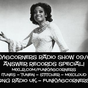 Funky16Corners Radio Show 09/04/17