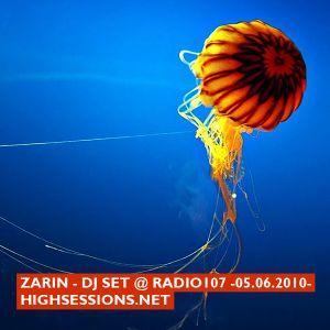 Dj set @ radio107 (05.06.2010)