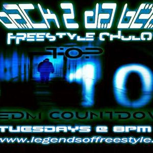 Top 10 EDM Countdown Show with Freestyle Chulo - August 27, 2013