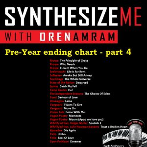 Synthesize Me #200 - 27/11/2016 - Hour 4 - pre-year ending chart