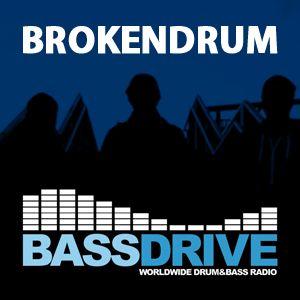 BrokenDrum LiquidDNB Show on Bassdrive 155
