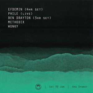 House of Mince: Efdemin Opening Set 30.1.16 @ Arq Sydney