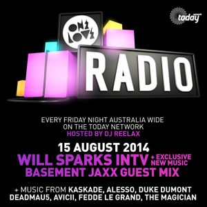 ONELOVE RADIO 15 AUGUST - WILL SPARKS INTERVIEW & BASEMENT JAXX GUEST MIX