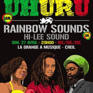 HI-LEE Sound Sélection promo concert Black Uhuru à la GAM de Creil.
