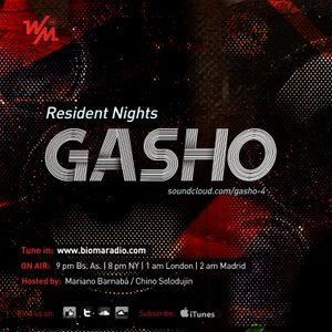 We Must Radio Show #30 - Resident Nights - Gasho - djset
