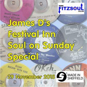 James D's Fitzsoul Festival Inn Soul On Sunday Special November 2015