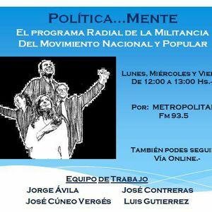 PoliticaMente Miercoles 17-05-217