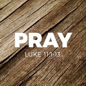 Pray [Luke 11:1-13]