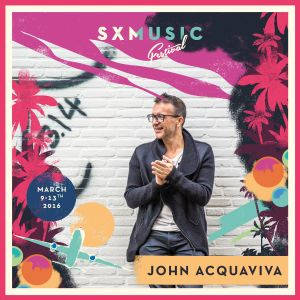 John Acquaviva live at SXM Festival, St. Maarten, March 2016