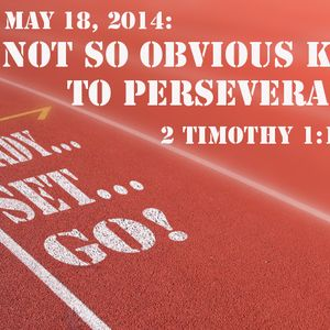 READY! SET! GO!: Not So Obvious Keys to Perseverance (Audio)