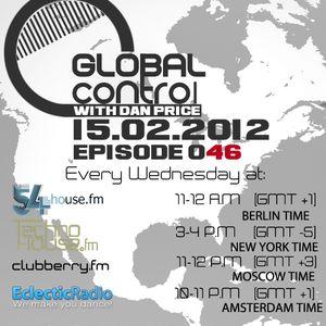 Dan Price - Global Control Episode 046 (15.02.12)
