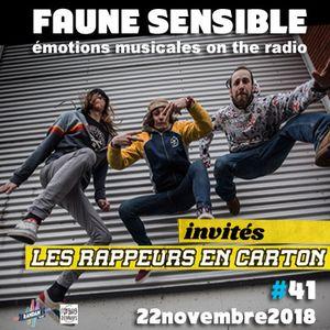 Faune Sensible#41 du 22 Novembre 2018