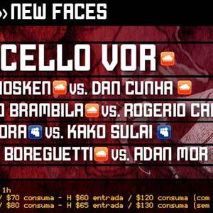 Adan Mor vs.  Rodrigo Boreguetti Warm Up Clash Club @ New Faces 30.07.2011