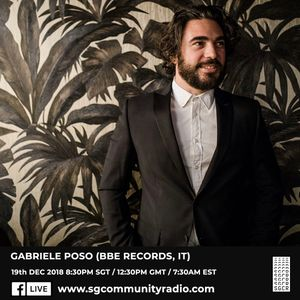 SGCR Radio Show #103 19.12.2018 Episode ft. Anand (Beatrootsound) & Gabriele Poso (BBE Records)