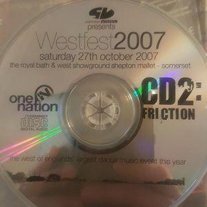 DJ Friction - Slammin Vinyl Westfest 2007 - One Nation