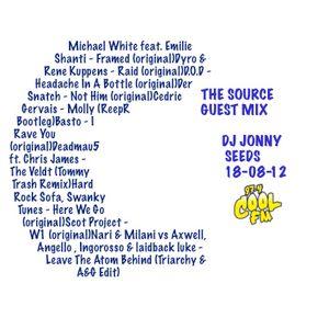 Jonny Seeds - The Source Guest Mix - Cool Fm - 18-08-12