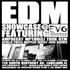 DopplerDefect - 2012-12-01 - Live at Evolution Records EDM Showcase (PsyBreaks)