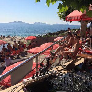 Wasilkoski @ Sunsetbyturadio at Bar Playa Fortiñón
