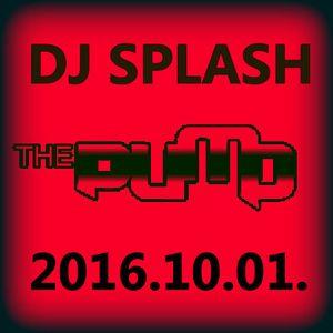 Dj Splash (Peter Sharp) - Pump WEEKEND 2016.10.01.