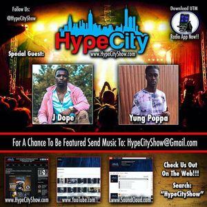 """7-6-17 - HYPE CITY show on uTm Radio """" J DOPE & YUNG POPPA """""""