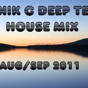 DJ Nik C Deep/Tech House Mix Aug/Sep 2k11