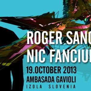 Sylvain @ Ambasada Gavioli - Warm Up Set for Roger Sanchez 19.10.2013