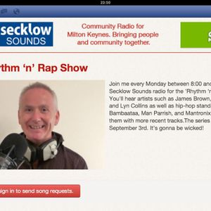 RHYTHM N RAP SHOW (Show #1) - Secklow Sounds 03.09.12