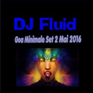 Goa Minimale Set 2 Mai 2016 DJ Fluid