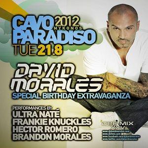 Hector Romero @ Cavo Paradiso, Mykonos - 21.08.2012 - (David Morales 50th BDay Party Extravaganza)