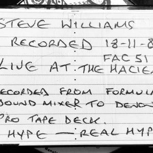 Steve Williams Hacienda 18-11-89 Side [A]