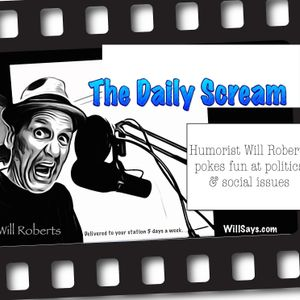 Will Roberts Weekly Telegram Radio Show -Comedian Bill Bronner, Jason Hadley, & John Debellis