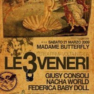 "Nacha World ""LE 3 VENERI"" @ MaDaMe Butterfly Ferrara 21.03.2009 Pt.3"