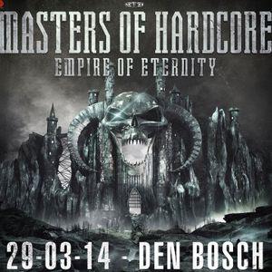 The Sinner live @ Masters of Hardcore - Empire of Eternity (Den Bosch) 29.03.2014