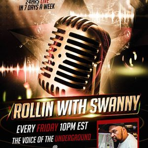 ROLLIN WITH SWANNY LIVE! WITH GUEST. OHH RAPPER KAOZ 7_3_15