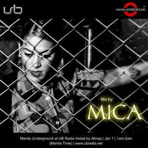 Manila Underground at UB Radio featuring Mica - Jan 1, 2017 - www.ubradio.net - MAUG032