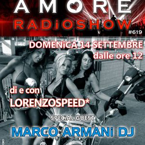 LORENZOSPEED present AMORE Radio Show Domenica 14/09/2014 with MARCO ARMANi & PATRiZiA part 2