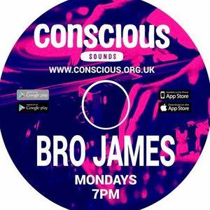 Brother James - www.conscious.org.uk - Monday Mixdown show - 27.02.2017