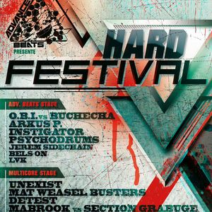 O.B.I & BUCHECHA @ HARD FESTIVAL by ADVANCED BEATS - 25.05.2013 - INOX CLUB - FR
