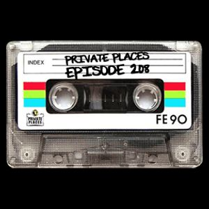 PRIVATE PLACES Episode 208 mixed by Athanasios Lasos