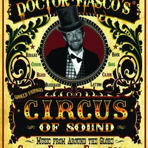 Dr. Fiasco's Circus of Sound at The Pavilion 7th January 2010 part 1