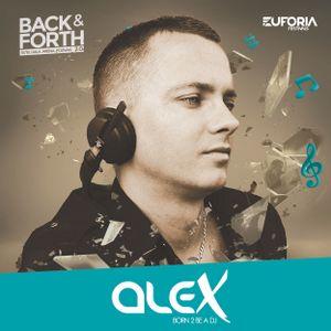 EUFORIA FESTIVALS pres. BACK & FORTH 2.0 DJ ALEX Poznań Hala Arena (15-10-2016)
