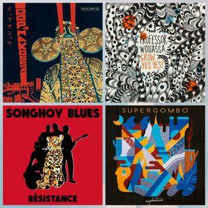 E223 Charts July: Professor Wouassa, Supergombo, Songhoy Blues, Gal Costa, Nomade Orquestra,Populous