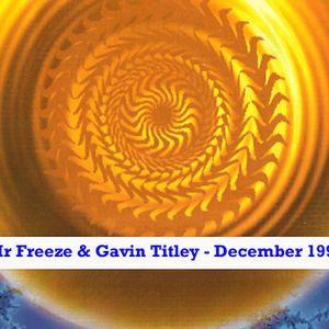Mr Freeze & Gav Titley House Mix December 1994 , Gav Side - Funky / deep / US house mix