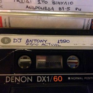 DjTony @ Disco Actual - 1990 (side a)