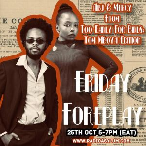 The Friday Forplay - 25th October 2019